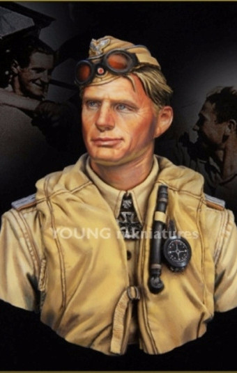 Luftwaffe Pilot, North Africa WWII