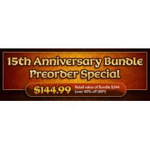 This special 15th Anniversary bundle offer is comprised of 18 brand new George R.R. Martin Masterworks releases and 5 brand new Tavern Personalities releases - all hand-sculpted by the one and only Tom Meier. So it is 23 miniatures in total at a sign