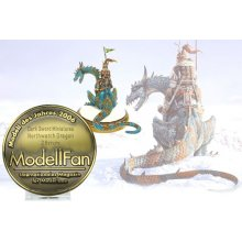 Dark Sword Miniatures won top honors for miniatures in 2006 in the German magazine called ModellFan with best 28mm Miniature of the year. Dark Sword has now won major awards for our work in both the USA and in Germany. We have Ralph from Miniaturenla